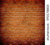 brick wall texture background  | Shutterstock . vector #593178803