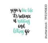 modern calligraphy style...   Shutterstock .eps vector #593190833