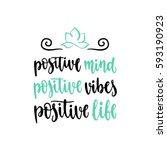 modern calligraphy style... | Shutterstock .eps vector #593190923
