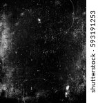 scary grunge texture. dark...   Shutterstock . vector #593191253