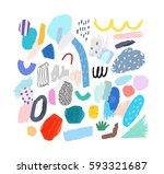 artistic creative universal... | Shutterstock .eps vector #593321687
