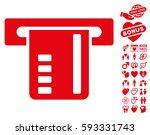ticket terminal icon with bonus ...   Shutterstock .eps vector #593331743