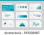 flat vector  set infographics... | Shutterstock .eps vector #593338487