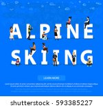"""people on """"alpine skiing"""" for... 
