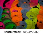 colorful background  | Shutterstock . vector #593393087