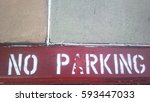 Red No Parking Curb
