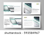 business templates for... | Shutterstock .eps vector #593584967