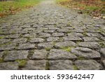 Old Gray Cobbled Stones Road...
