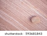 A Small Sandstone Rock Resting...