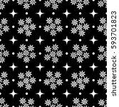 flower seamless pattern.... | Shutterstock . vector #593701823