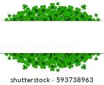 saint patricks day background...   Shutterstock .eps vector #593738963