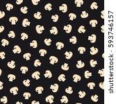 mushroom seamless pattern.... | Shutterstock . vector #593746157