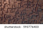 abstract clay texture surface... | Shutterstock . vector #593776403
