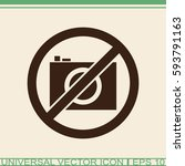 no photo vector icon.