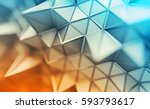 abstract 3d rendering of... | Shutterstock . vector #593793617