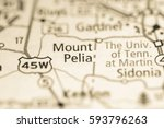 Small photo of Mount Pelia. Tennessee. USA