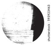 distress circular overlay... | Shutterstock .eps vector #593923463