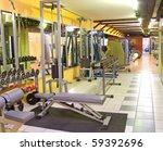 gym interior | Shutterstock . vector #59392696
