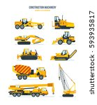 construction machinery concept. ...