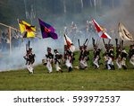 moscow region   september 07 ... | Shutterstock . vector #593972537