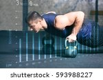 heart rate monitor concept.... | Shutterstock . vector #593988227