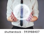 software development and use of ... | Shutterstock . vector #593988407