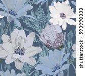 beautiful  bright  gentle ...   Shutterstock .eps vector #593990333