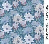 beautiful  bright  gentle ...   Shutterstock .eps vector #593990357