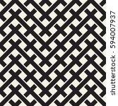 weave seamless pattern. stylish ... | Shutterstock .eps vector #594007937