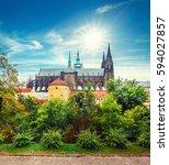 Prague Autumn Landscape View T...