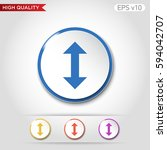colored icon or button of... | Shutterstock .eps vector #594042707
