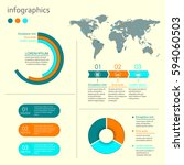 infographics design elements... | Shutterstock .eps vector #594060503