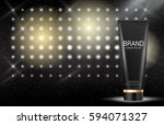 design cosmetics product ... | Shutterstock .eps vector #594071327