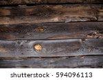 wood texture. old grunge wood... | Shutterstock . vector #594096113