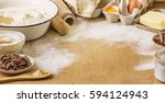 pastry  cakes  cook their own... | Shutterstock . vector #594124943
