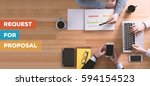 request for proposal concept | Shutterstock . vector #594154523