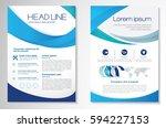 template vector design for... | Shutterstock .eps vector #594227153
