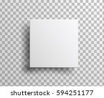 box isolated on transparent... | Shutterstock . vector #594251177