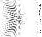 grunge halftone background.... | Shutterstock .eps vector #594266537