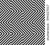 vector seamless pattern.... | Shutterstock .eps vector #594327017