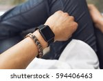 smartwatch | Shutterstock . vector #594406463