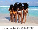 Four Beautiful African America...