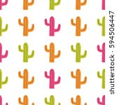 vector seamless pattern with...   Shutterstock .eps vector #594506447