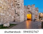 Jaffa Gate At Night   Jerusale...