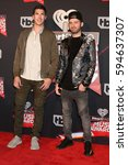 Small photo of LOS ANGELES - MAR 5: Timeflies, Cal Shapiro, Rob Resnick at the 2017 iHeart Music Awards at Forum on March 5, 2017 in Los Angeles, CA