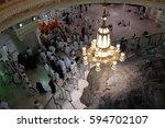 mecca  saudi arabia   1... | Shutterstock . vector #594702107