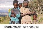 wenchi  ethiopia  november 2013 ...   Shutterstock . vector #594736343