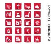 energy resources icon set ....