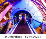 science museum information... | Shutterstock . vector #594914237