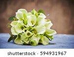 flower bouquet  | Shutterstock . vector #594931967